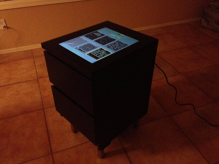 78 best images about arcade machines on pinterest arcade for Cocktail tables diy