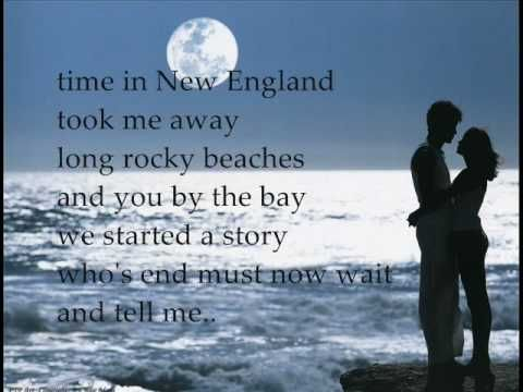 ♪ Weekend In New England ♪ ~ sung by Barry Manilow (lyrics included).  Darlin' D loves LOVES this song