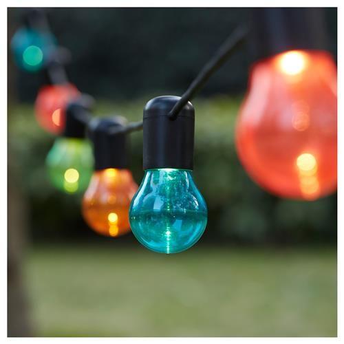 SOLVINDEN γιρλάντα φωτισμού LED με 12 λαμπτήρες - IKEA
