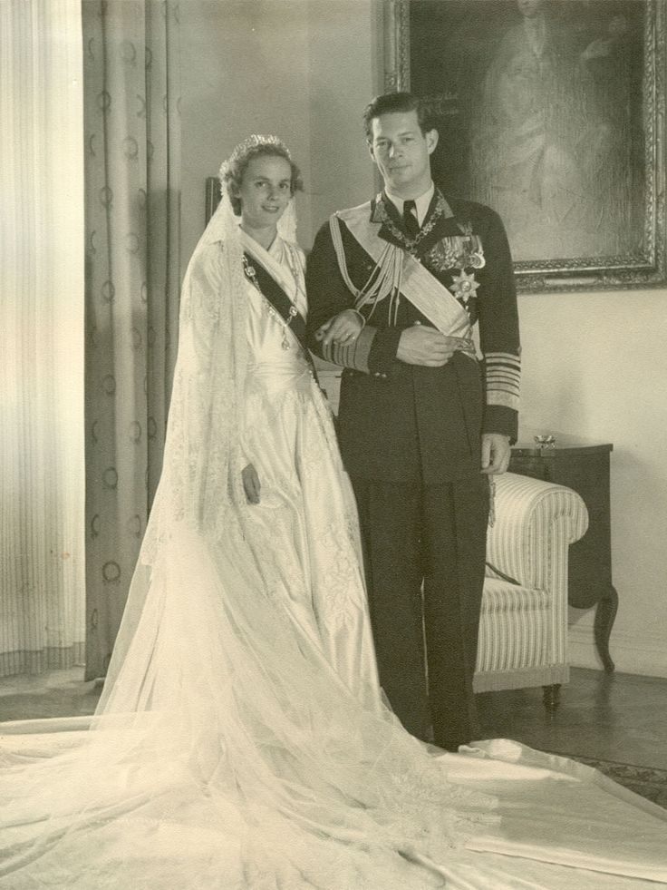 King Mihai I da Romania com sua esposa Queen Anne of Romania.