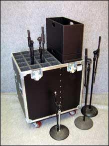 R&R Cases - AV Mic Stand Case