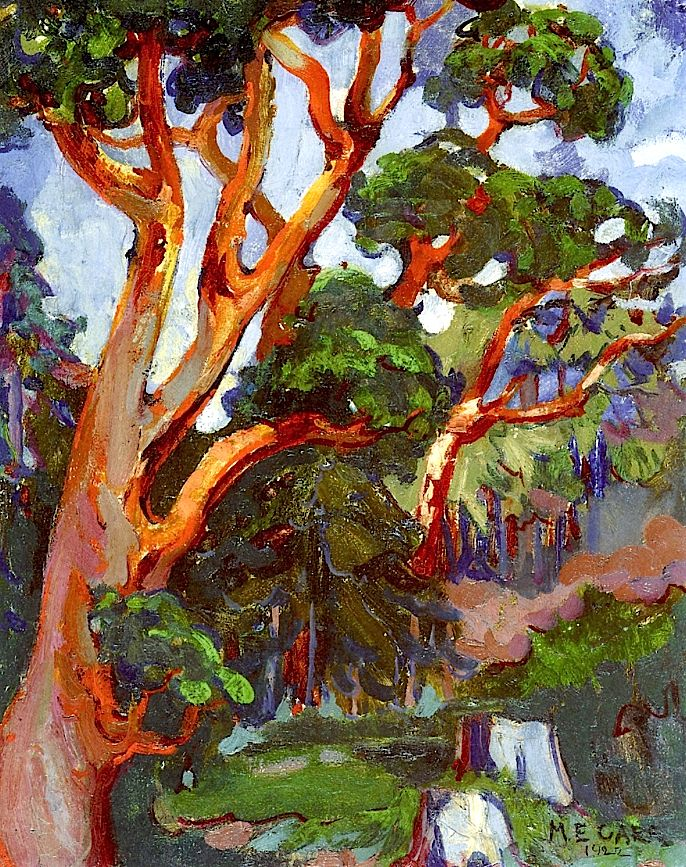 Arbutus Tree / Emily Carr - 1922 (madrona in the PNW, native trees)