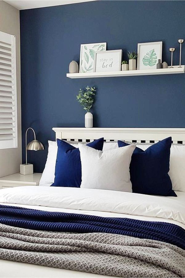How To Decorate Your Room Without Buying Anything Decorating Tips Tricks 1000 In 2020 Blue Bedroom Walls Blue Master Bedroom Remodel Bedroom