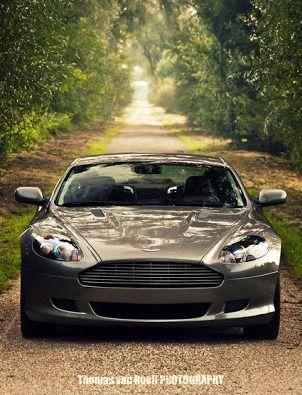 Aston Martin DB9 - Car Photography