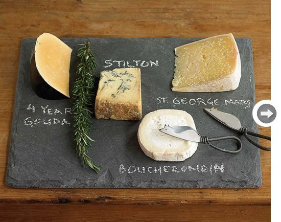 9 great gift ideas for foodies. Slate Cheese BoardCheese Board SetSlate ... : cheese plate gift set - pezcame.com