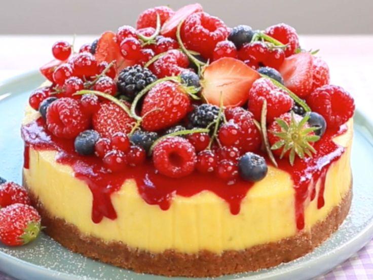 Onctueux, généreux, un vrai gâteau au fromage blanc comme à New York. En version filmée, pas à pas, étape après étape,…