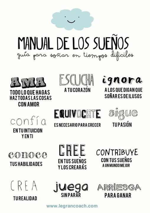 Pieces of a dream: Manual de los sueños
