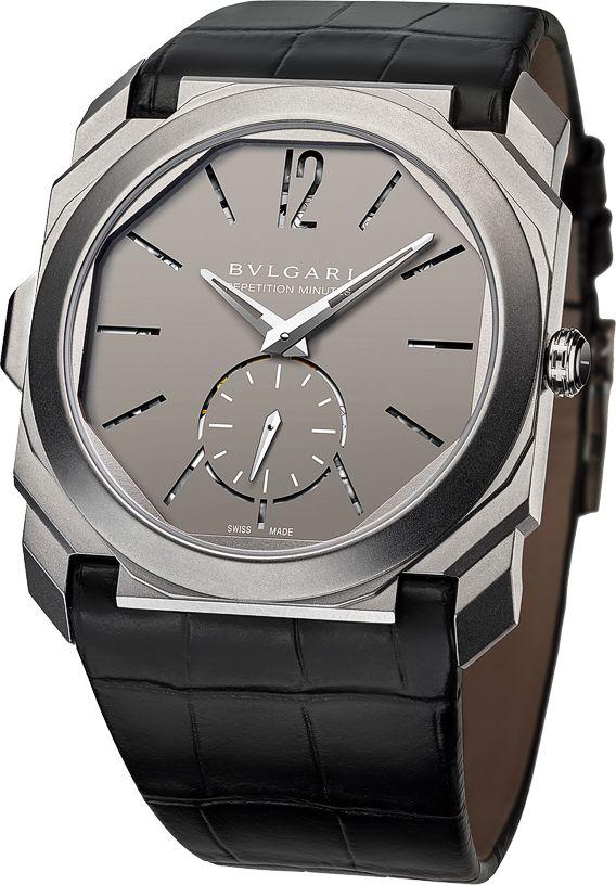 La Cote des Montres : La montre Bulgari Octo Finissimo Répétition Minutes repousse les limites absolues de la montre à sonnerie