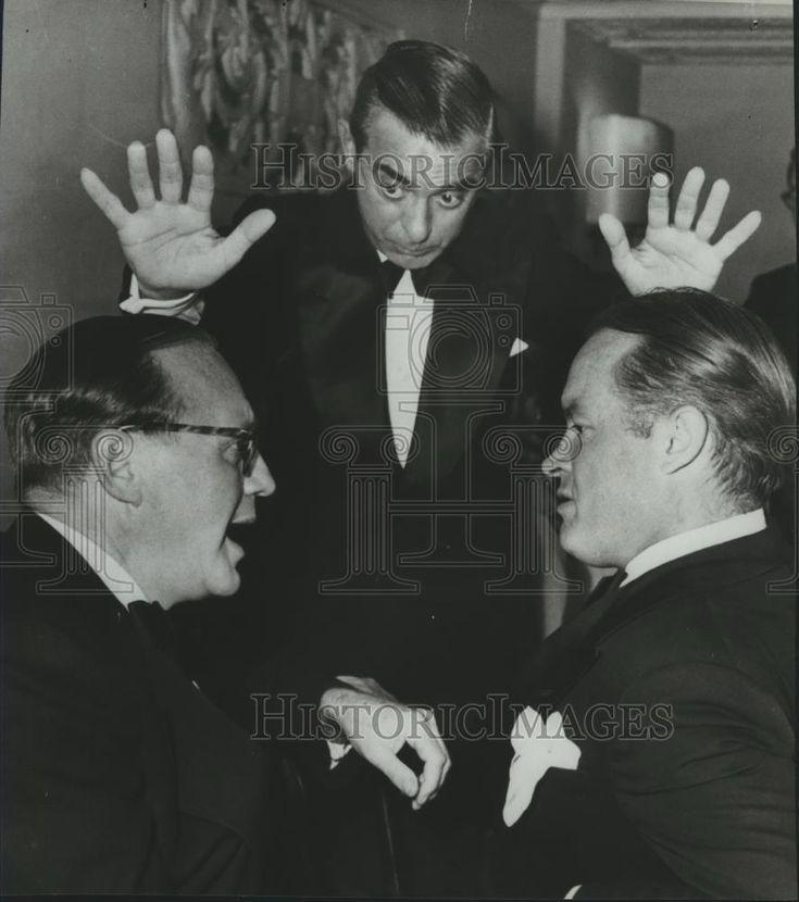 1983 Press Photo Jack Benny, Eddie Cantor & Bob Hope  - spp30857