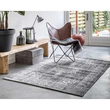 Home Living vloerkleed Classic - grijs - 160x230 cm | Leen Bakker