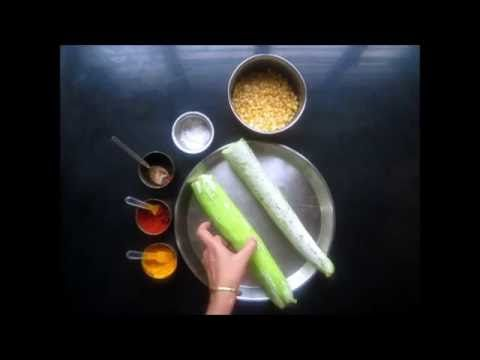 How To Cook Stir Fried Padwal, Or, Stir Fried Snake Gourd