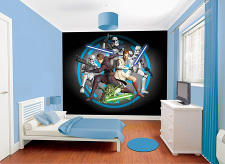 Bring Your Childu0027s Room To Life With These Walltastic Star Wars Wall  Stickers. Part 77