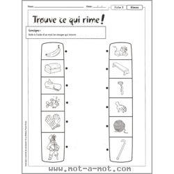 L'orthophonie à la maison - Conscience phonologique