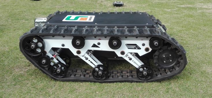 Rubber Track RC Robot Chassis (K01SP8AT9)