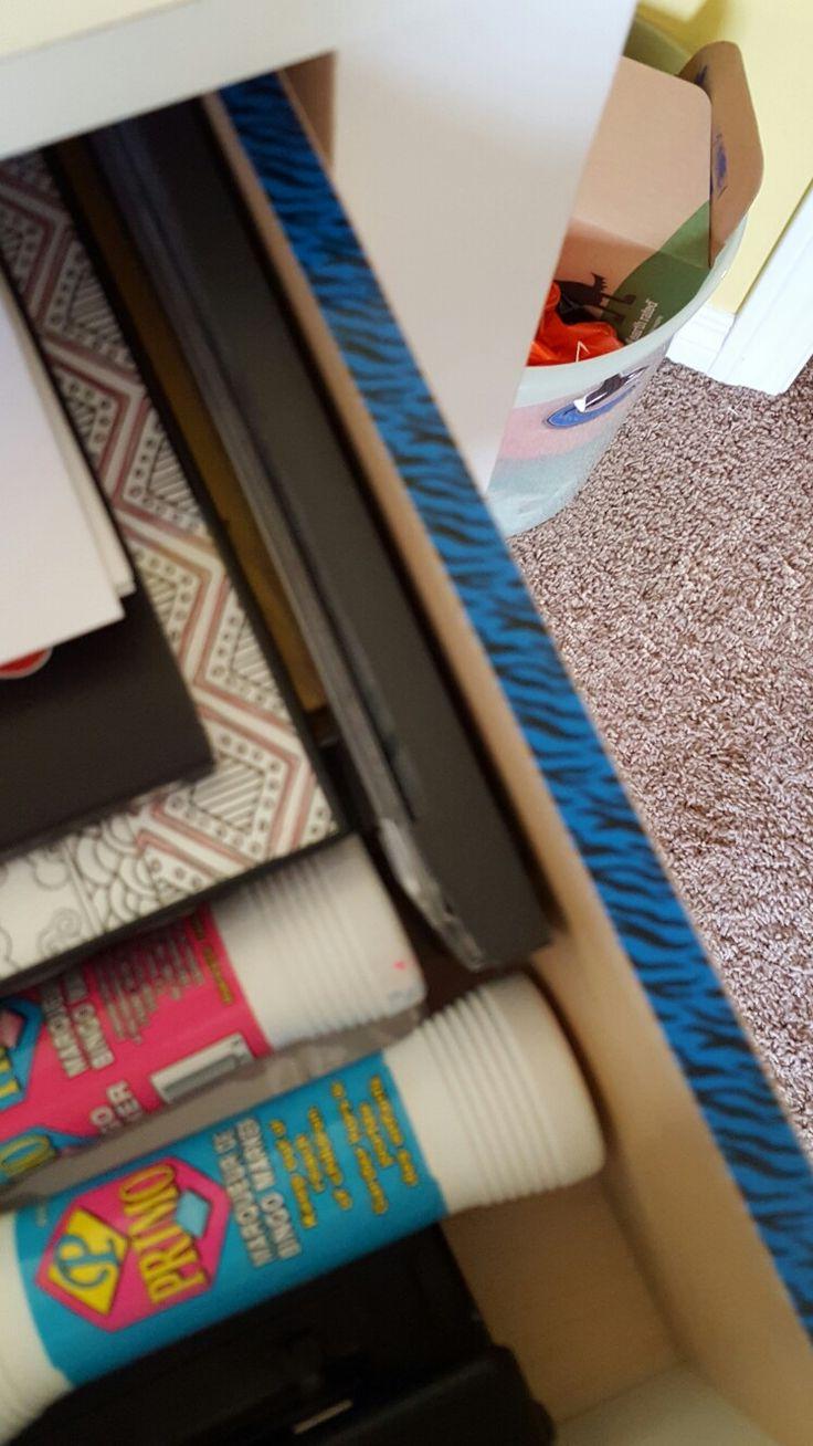Washi tape drawer
