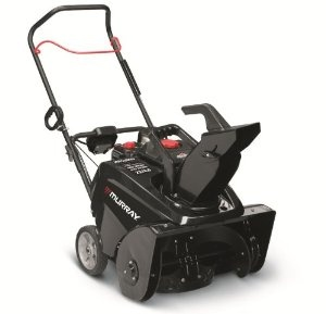 Murray 1695885 800 Snow Series 22-Inch 205cc 4-Cycle OHV Briggs & Stratton Gas Powered Single Stage Snow Thrower With Electric Start    List Price: 	$499.99  Price: 	$446.82 & eligible for FREE Super Saver Shipping.   You Save: 	$ 53.17 (11%)