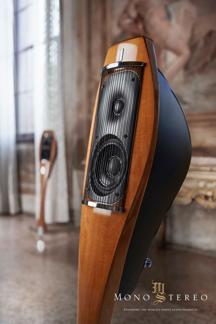 Mono and Stereo High-End Audio Magazine: Franco Serblin Lignea speakers official photos