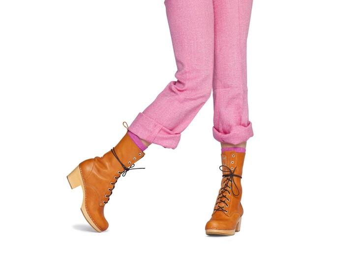 Swedish Hasbeens - Lace-up Boot highSwedish Hasbeens, Lace Up Boots, I M Grown, Boots High, Laceup Boots