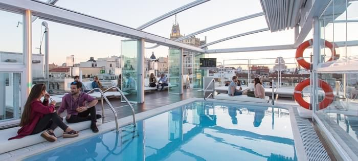Pool with Terrace in Madrid