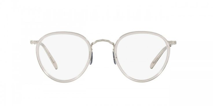 Oliver Peoples | MP-2 Dune/18K White Gold Optical Eyewear by Oliver Peoples