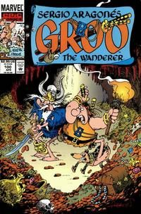 Sergio Aragonés Groo the Wanderer #100 April 1993