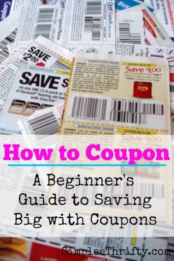 If you've ever seen a veteran couponer in action, you probably wondered how on Earth they managed to get such great deals. In fact, when I first began bringing home great deals, my husband was convinced I must be doing some illegal! The deals were too good! Read more at http://simpleethrifty.com/how-to-coupon/#xtVgzG4SZOSl0xoj.99
