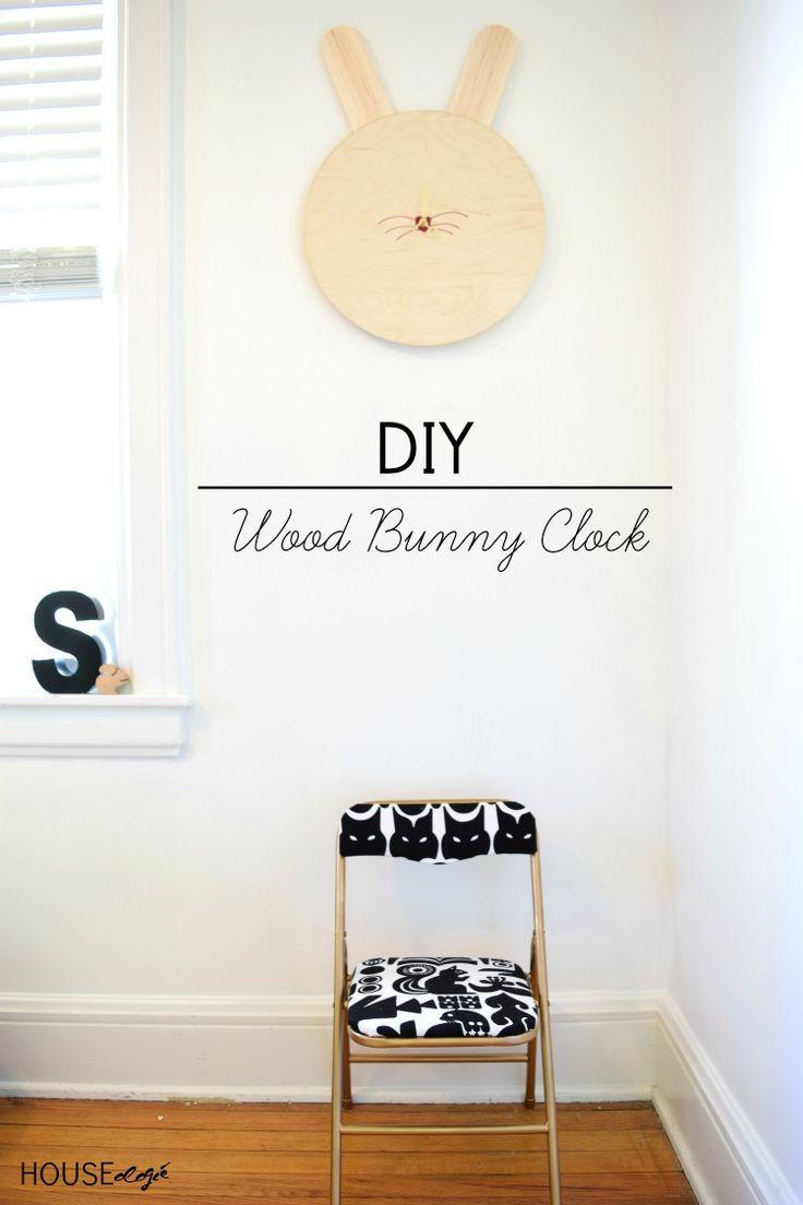 DIY Bunny Clock |