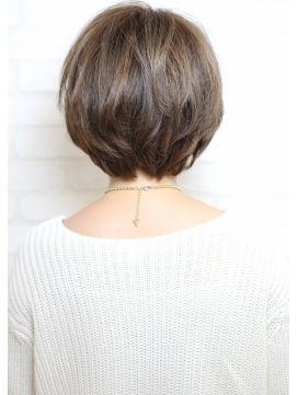 ミューズ Hair Make Muse 自由が丘店トップにボリュームを出した美シルエット☆大人なボブ☆自由が丘