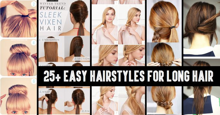 From Classy to Cute: 25  Easy Hairstyles for Long Hair
