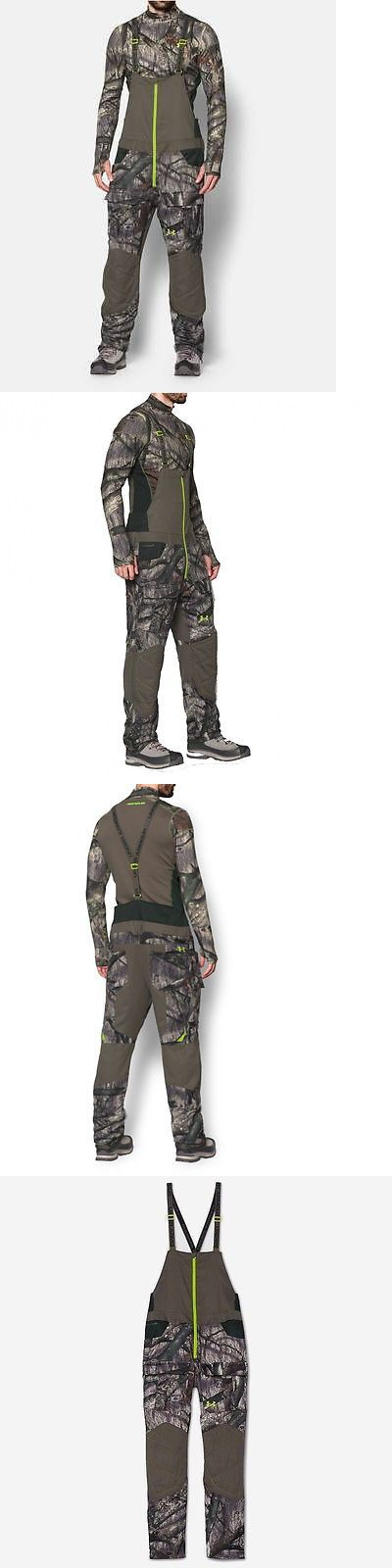 Pants and Bibs 177873: Under Armour Men Scent Control Hunting Bib Overall Infrared Pants Mossy Oak Tree -> BUY IT NOW ONLY: $119.99 on eBay!