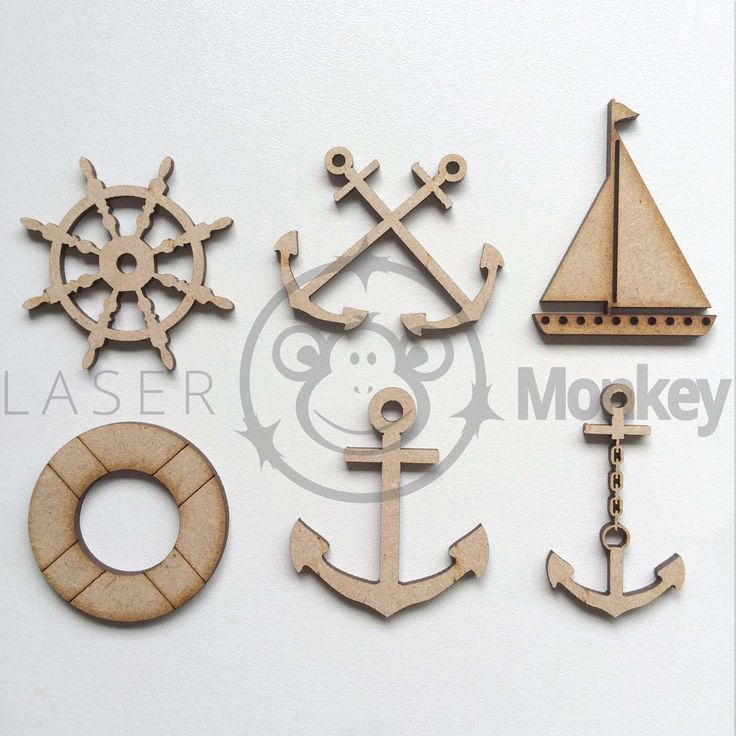 MDF Wooden Craft Shapes Anchors Yacht Ship Wheel Anchor Cross Chain Ribbon  in Home, Furniture & DIY, Home Decor, Plaques & Signs   eBay