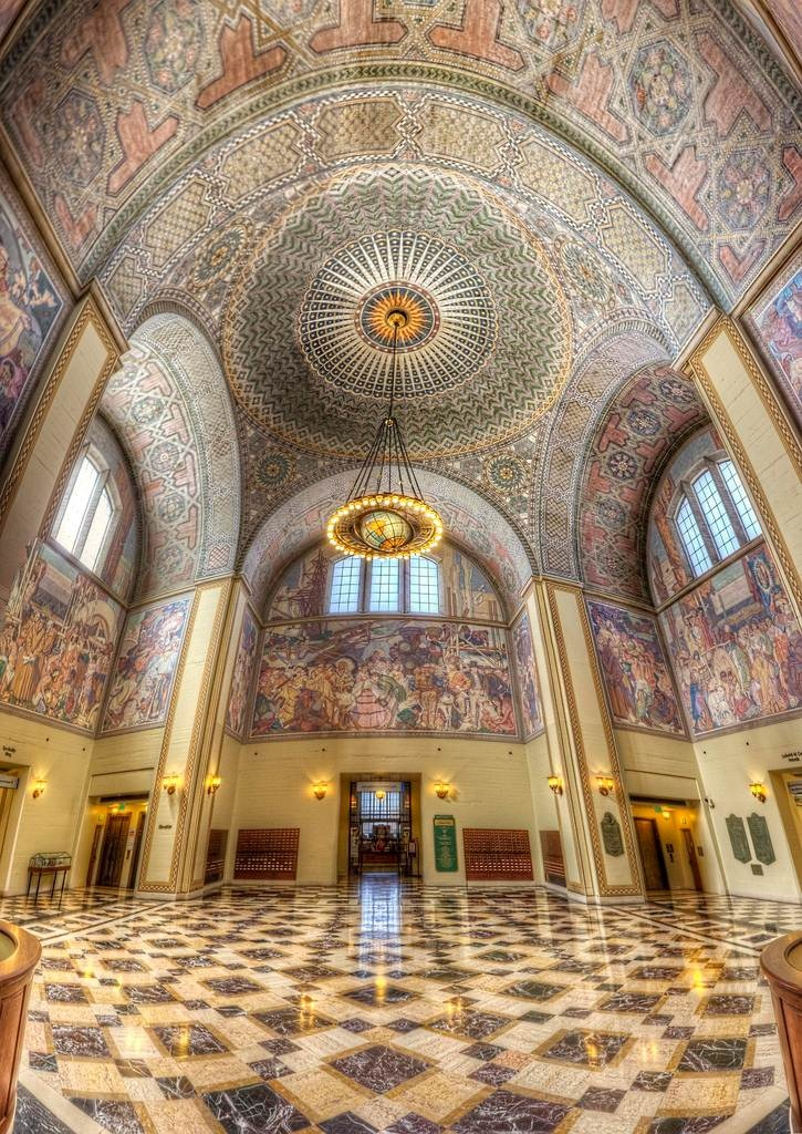 Los Angeles Central Library - Bertram G. Goodhue (photo by Candice Bessie Smith)