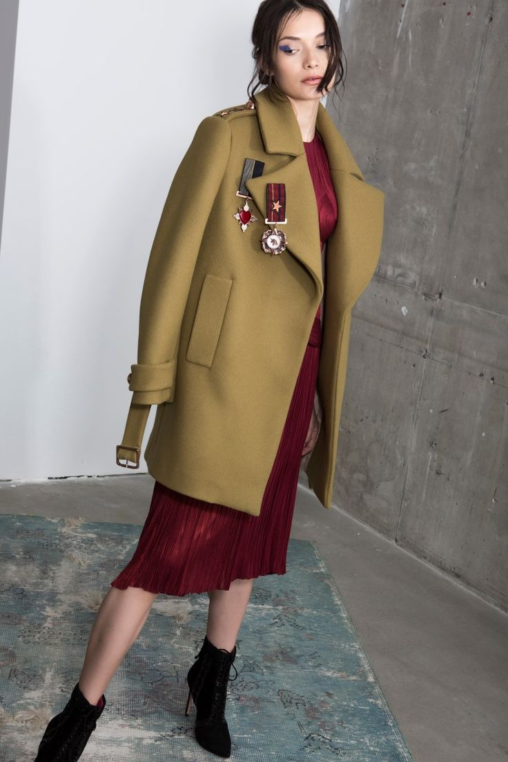 Greta wool coat