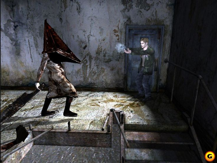 When I first saw Pyramid Head in Silent Hill 2 I thought it was kind of tacky and over-the-top. But he proved to be a classic villian.