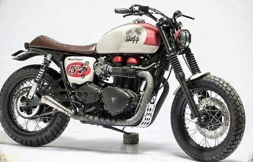 Triumph Scrambler #motorcycles #scrambler #motos | caferacerpasion.com