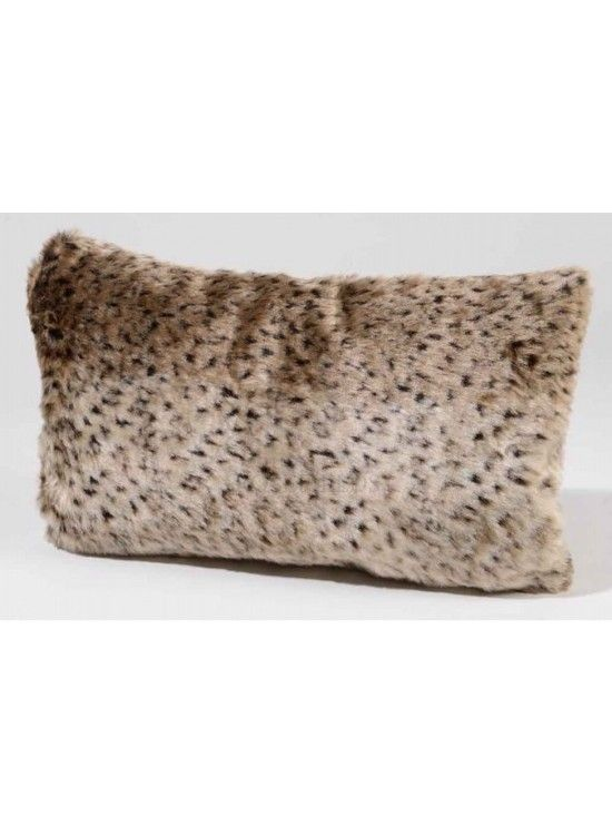 Faux Fur Cushion @ rosefields.co.uk chic_boutique_homeware £19.99