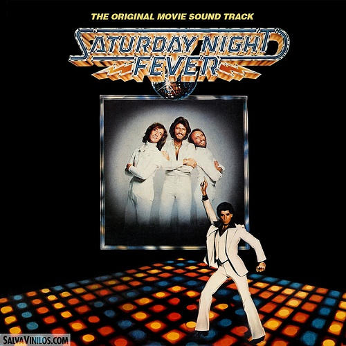 November 10th 1977 The Bee Gees release the soundtrack to Saturday Night Fever, which will go on to become the then best selling album of all time.