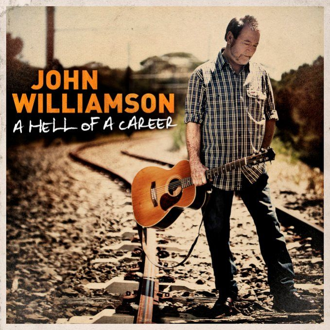 John Williamson-A Hell Of A Career, featuring 44 songs over two CD's  to celebrate his illustrious career.