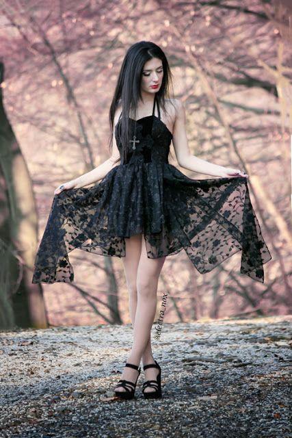 The Gothic Shop Blog: Dead Souls Gothic Dress - Electra Nox