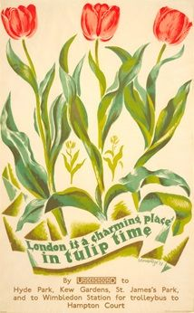 London is a Charming Place in Tulip Time - John Mansbridge (1933)