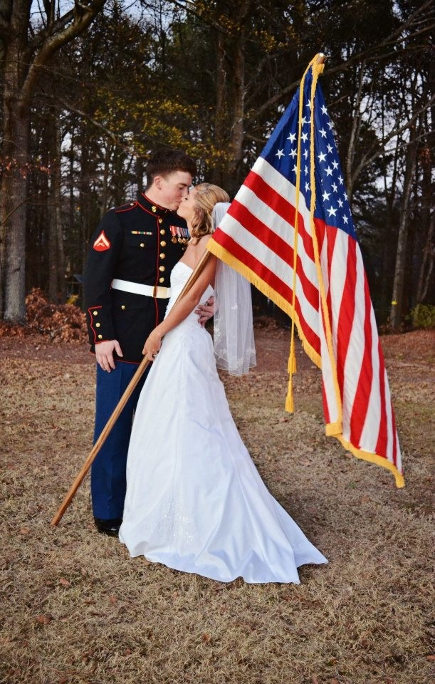 USMC wedding! Cute for chad and i