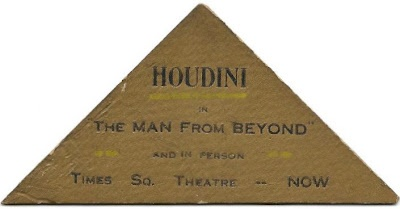 houdini 3Business Cards, Houdini Business, Famous Business