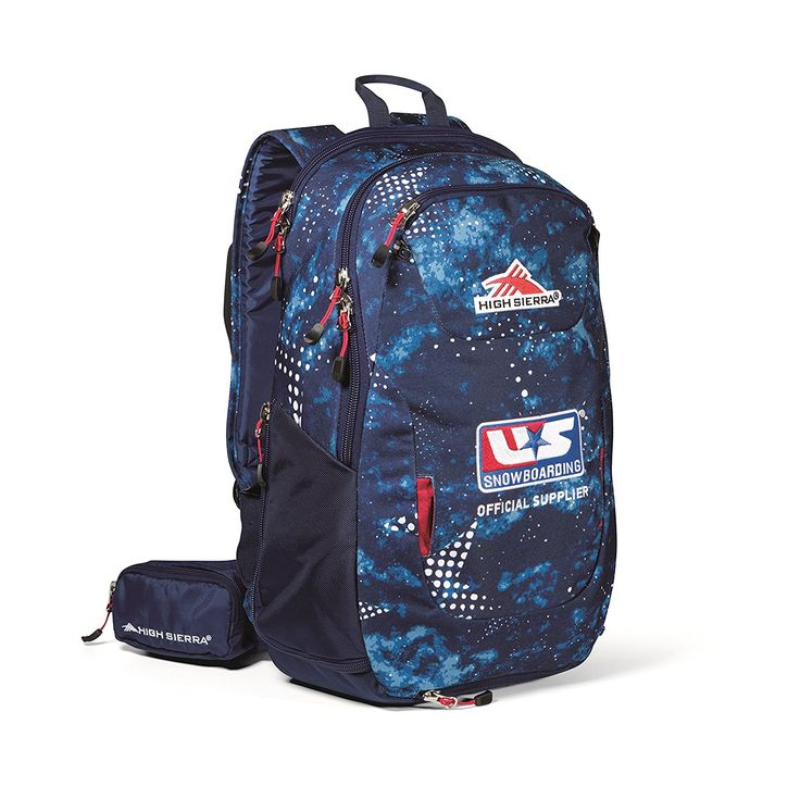 High Sierra U.S. Snowboarding Team Backpack => New and awesome outdoor gear awaits you, Read it now  : Backpacking backpack