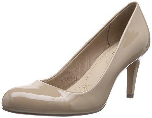 Oferta: 79.94€ Dto: -39%. Comprar Ofertas de ClarksCarlita Cove - Zapatos de Tacón mujer , color Beige, talla 37 EU barato. ¡Mira las ofertas!