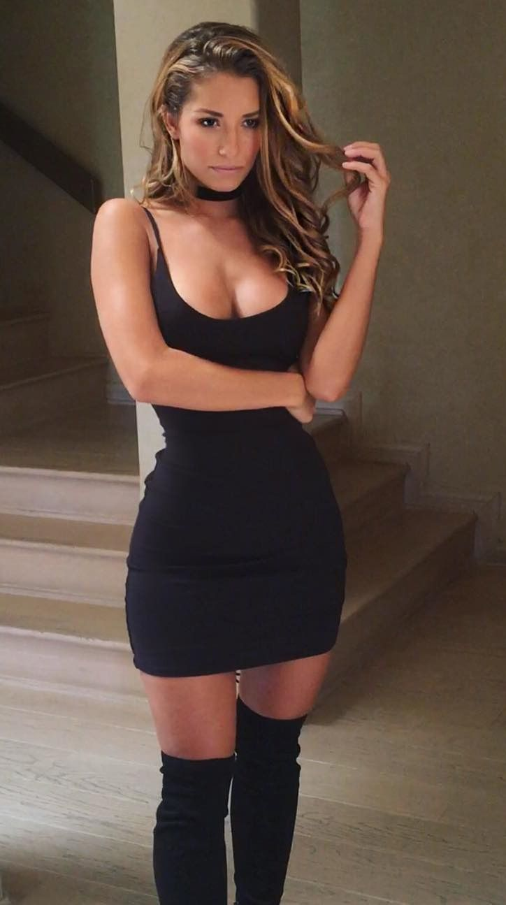 Sierra Skye | BOOTS in 2019 | Tank dress, Dresses, Sexy ...
