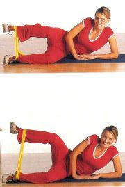 esercizi esterno coscia ginnastica in casa