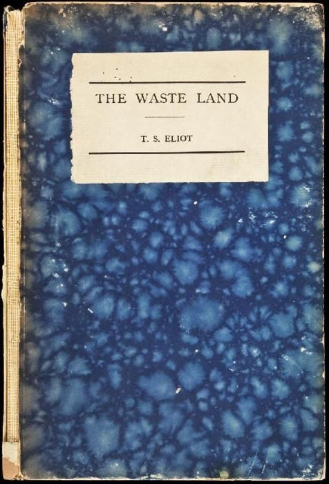 1/52 twee dichtbundels van T.S. Eliot  om het jaar mee te beginnen. Het raadselachtige The Waste Land en daarna als beloning het humoristische Old Possum's Book of Practical Cats (op muziek gezet in de musical Cats). #boekperweek
