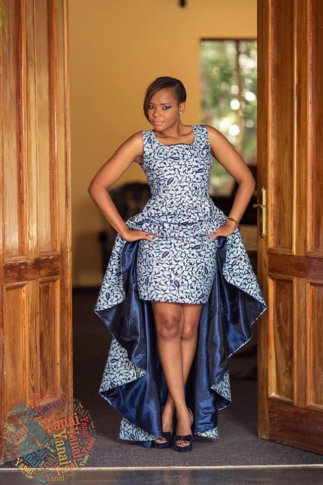 Décollage immédiat pour le Zimbabwe avec la marque YANAI FASHION ! YANAI FASHION est une marque de couture du Zimbabwe qui propose des tenues aux coupes originales, un mélange de tons unis et de couleurs, des accessoires (coussins, sacs, chaussures, bibi) en wax, dashiki, et autres imprimés africains... Site Web : www.yanaifashion.com Facebook : www.facebook.com/YanaiFashion