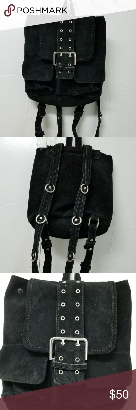 Urban outfitters backpack 100% suede. A lil dirty from the inside but can be cleaned. Final price. Urban Outfitters Bags Backpacks