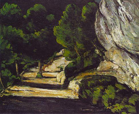 Paysage, 1870-71, Paul Cézanne